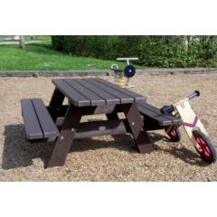 Table pique-nique enfant en bois ou en plastique