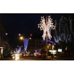Illuminations de Noël pour collectivités