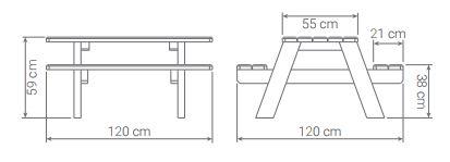 dessin-technique-table-pique-nique-repas