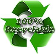 Banc en plastique 100% recyclable